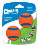 Chuckit Ultra Ball 2 Pack - Sm/Med